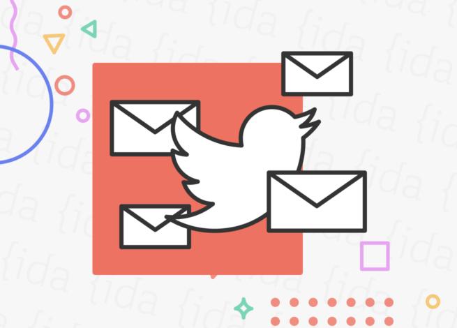 Twitter nuestras mejoras para sus mensajes privados.