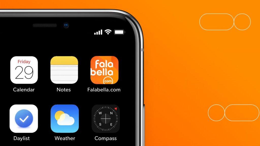 Logo App Falabella.com