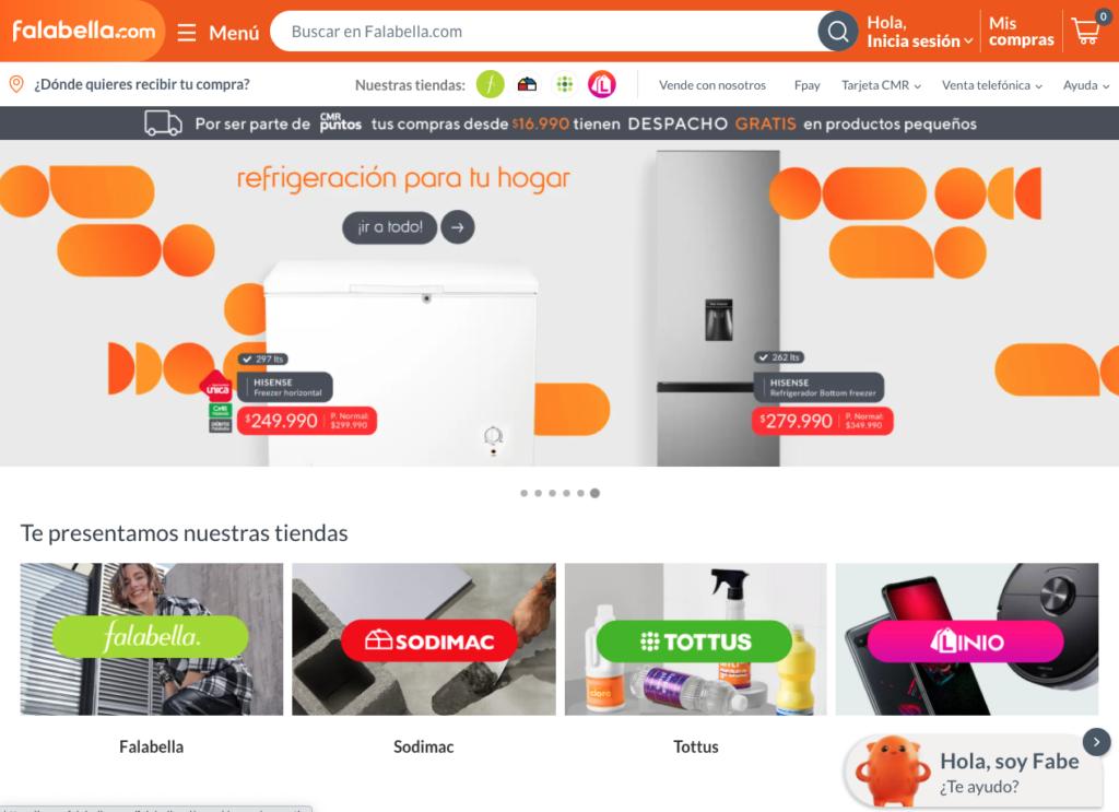"""Nuevo diseño del sitio """"Falabella.com"""""""