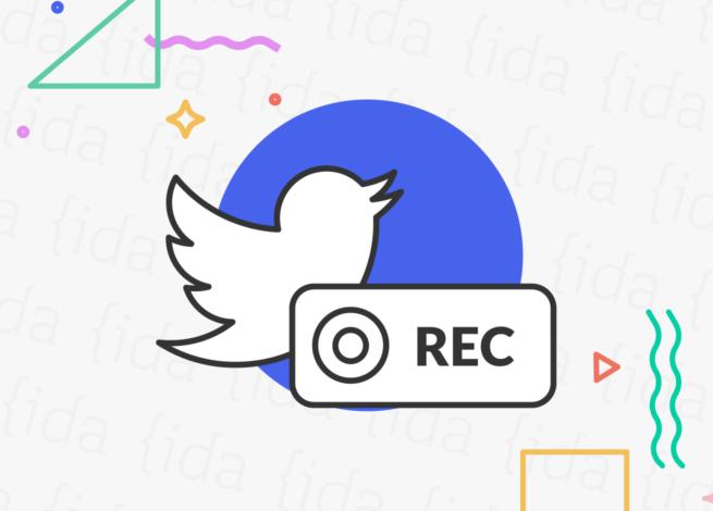 Twitter Spaces y la función de grabar.