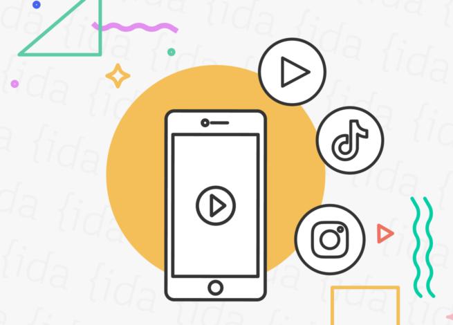 videos cortos en YouTube, TikTok e Instagram.